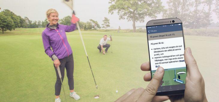 Golfregler till smartphones